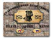 Brave Spirit Kennel Staffordshire bullterrier