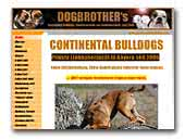 Dogbrother's Continental Bulldogs