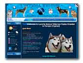 Siberian Husky Kennel Lycoria