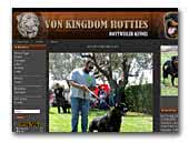 Von Kingdom Rotties Rottweiler Kennel