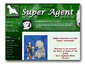 Super agent - west highland white terrier