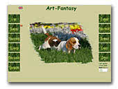 Beagle kennel Art-Fantasy