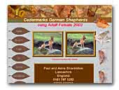 Cedarmarks German Shepherd Dogs Kennel