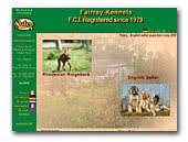 Fairray Kennels - English Setter Kennel