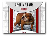 Spell My Name Bulldogs