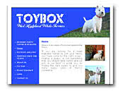 West Highland White Terrier Toybox